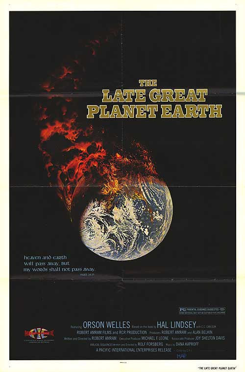 2,500 Movies Challenge: #541. The Late Great Planet Earth ...