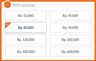 Pilih voucher