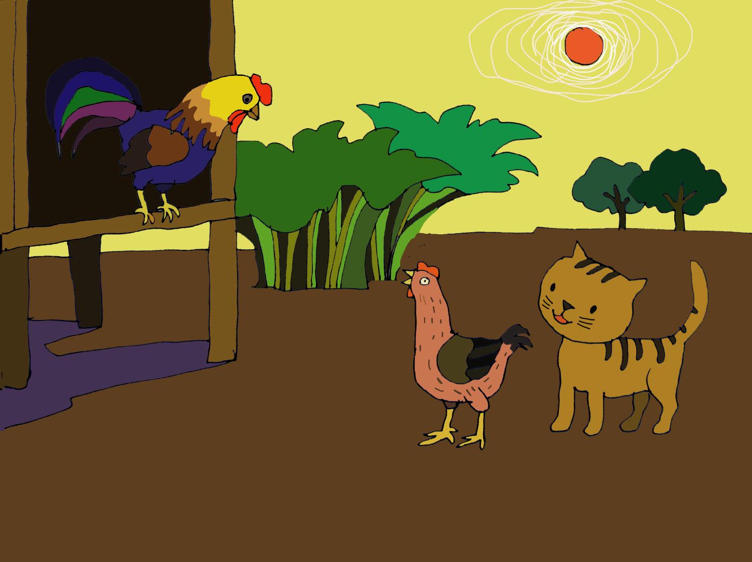 Kết quả hình ảnh cho chú gà trá»