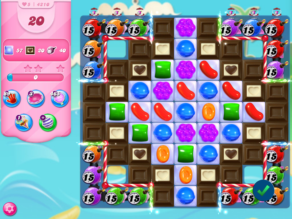 Candy Crush Saga level 4210