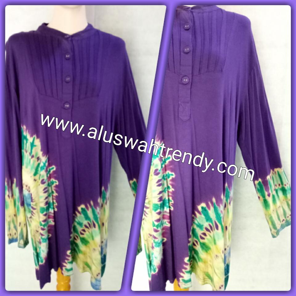 Blus Batik 023 Kaos