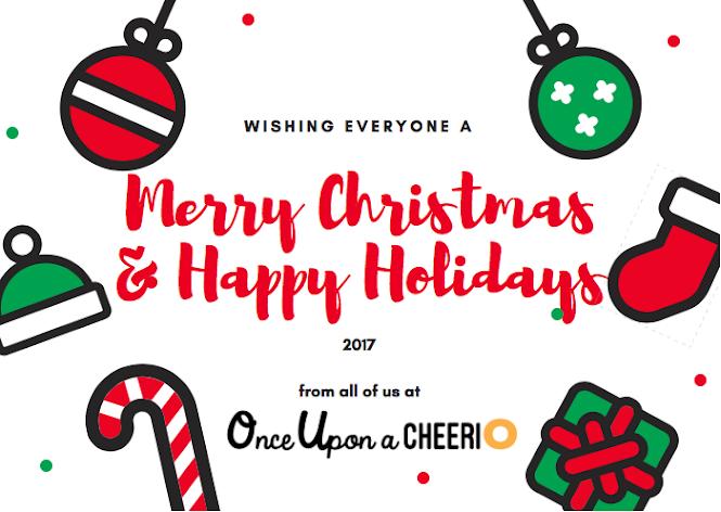 Once Upon a Cheerio Christmas Family