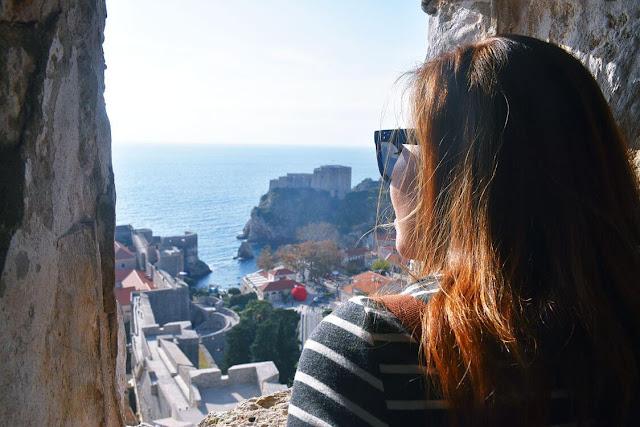 adriatic sea views from Minčeta Tower
