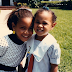 Throwback photo of Beyonce and her sister Solange