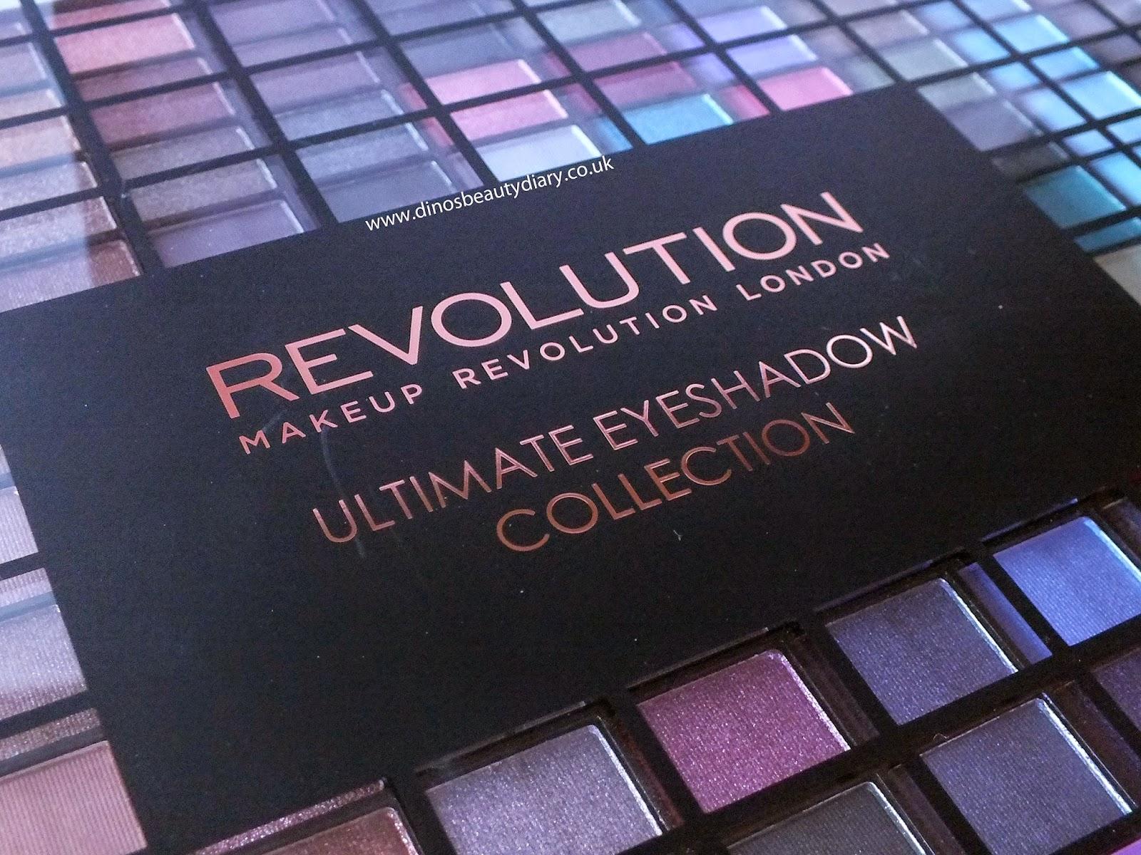 Dino's Beauty Diary - Makeup Revolution Haul