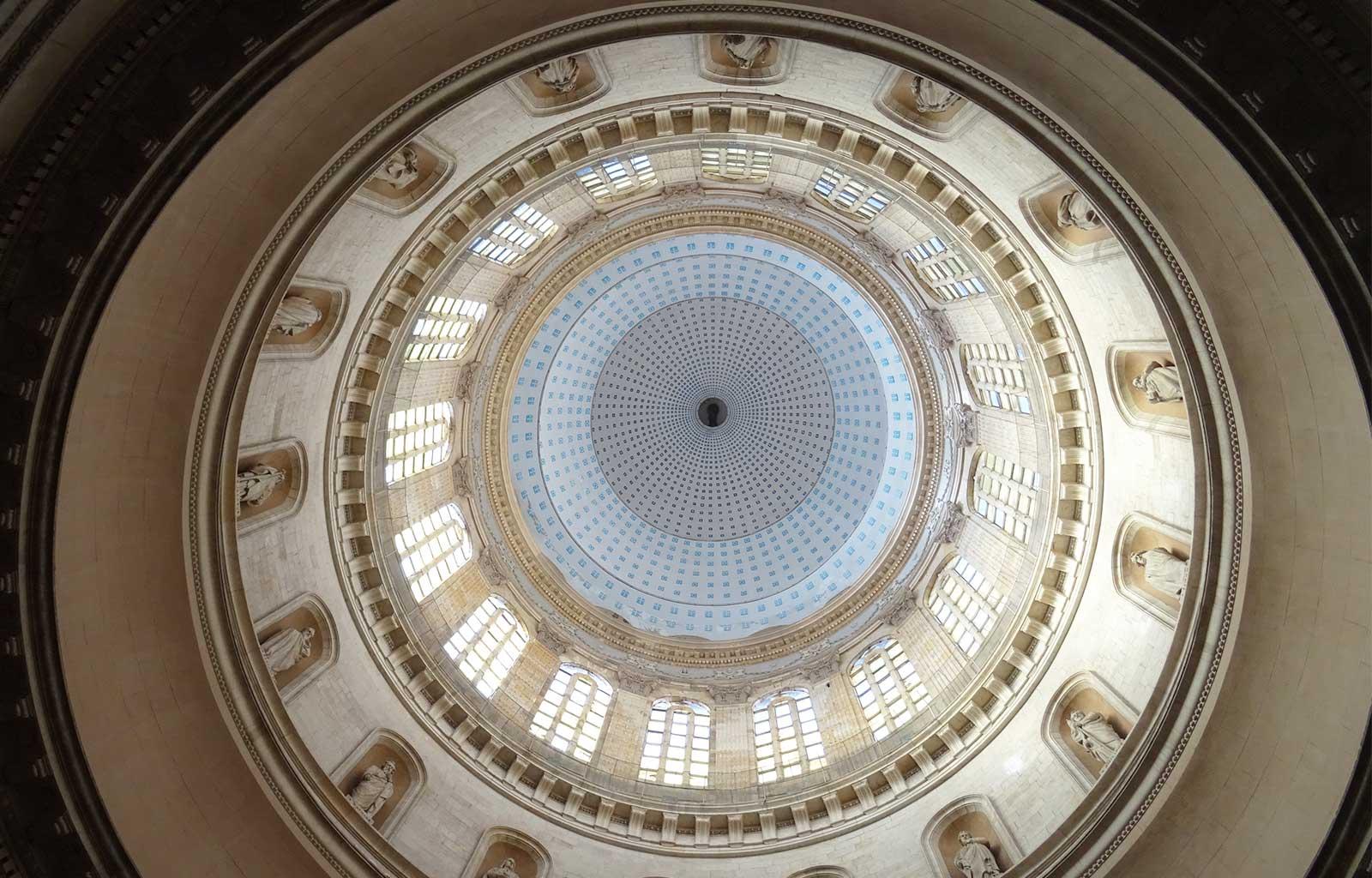 Boulogne-sur-mer Dôme de la Basilique Notre-Dame-de-l'Immaculée-Conception