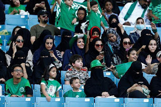 Spotlight : Saudi Women Score Right To Watch Men's Soccer In Stadiums
