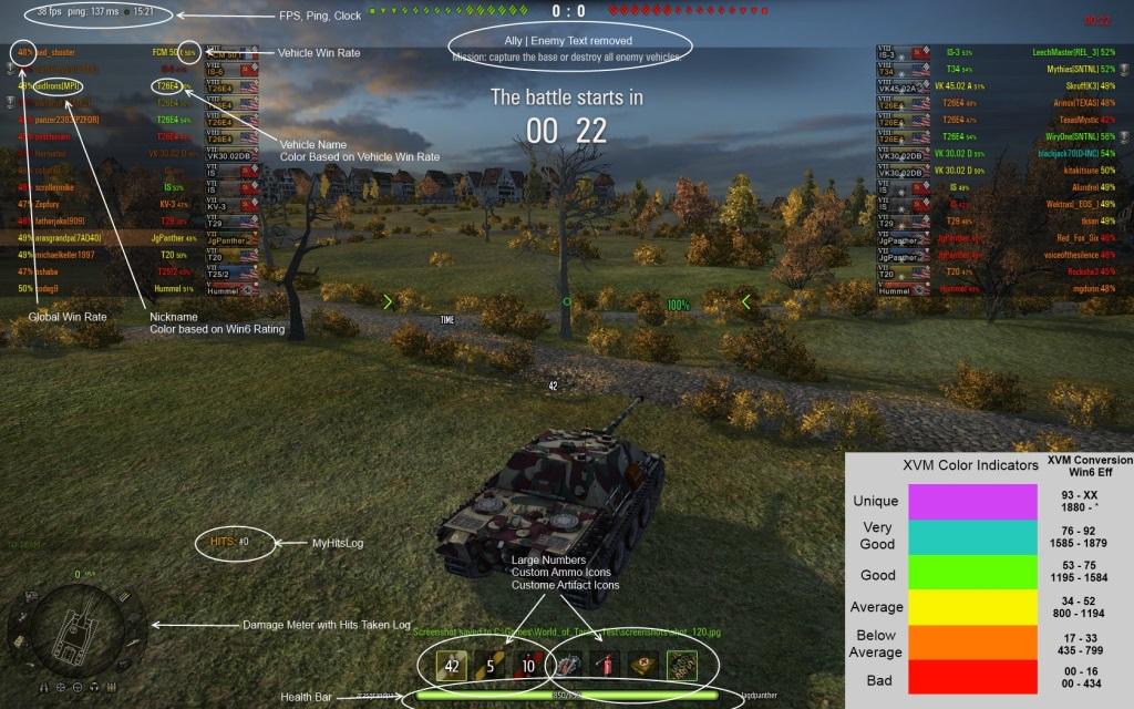 world of tanks 9.15.1 mods