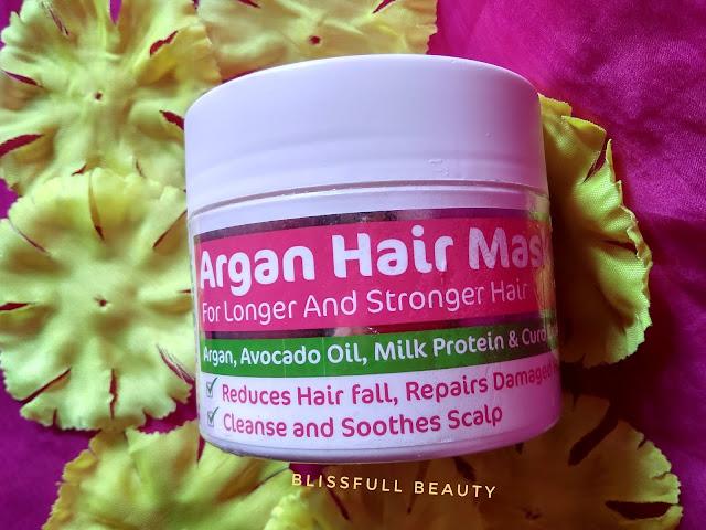 Mama earth argan hair mask review