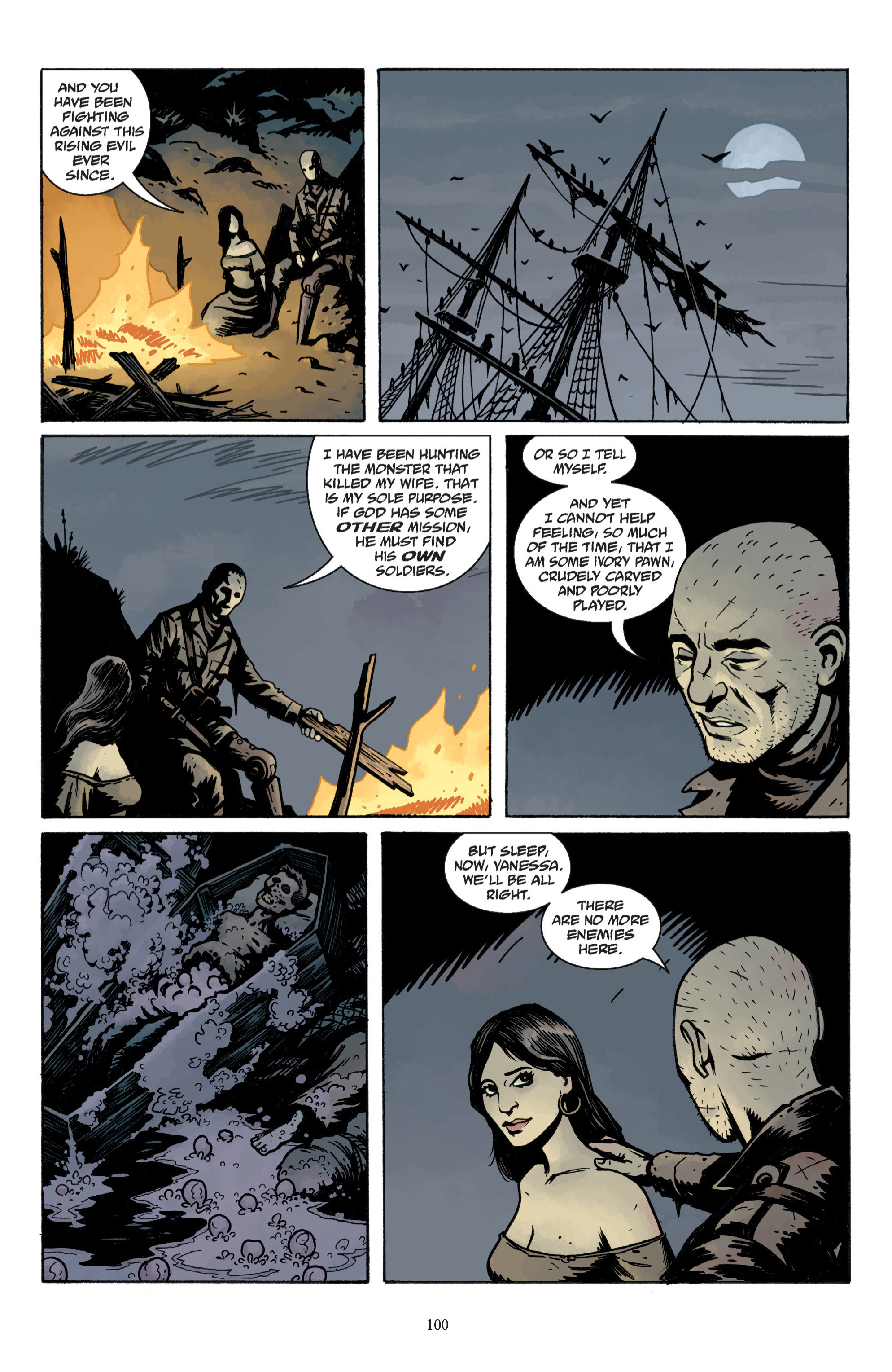 Read online Baltimore: The Plague Ships comic -  Issue # TPB - 100