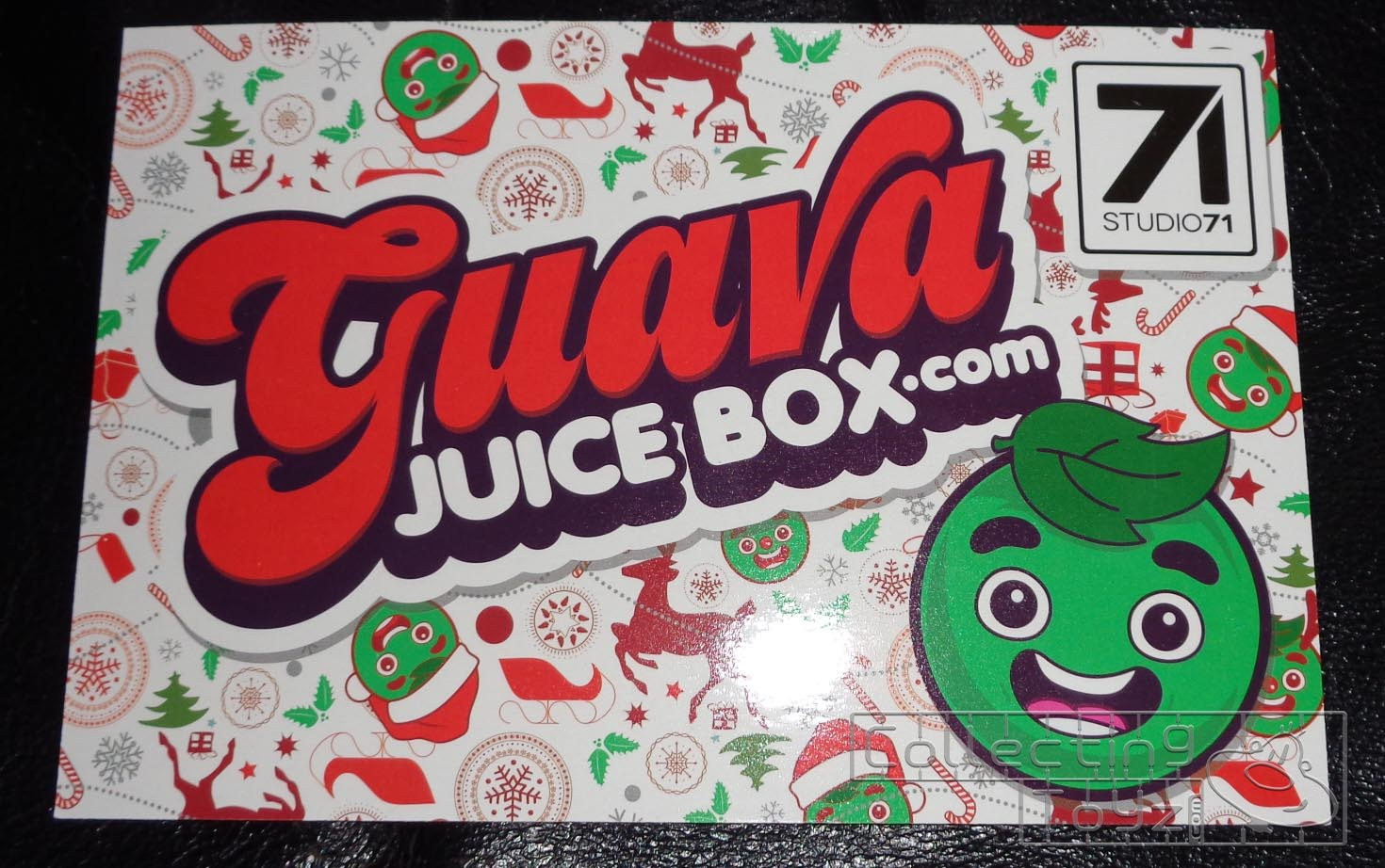 7e985b9b069bd Collecting Toyz  Guava Juice Box  Holiday Box Unboxing