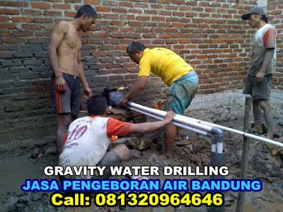 jasa pengeboran air tanah untuk wilayah di bandung