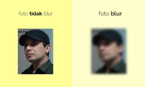 Apa Itu Gambar dan Foto Blur serta Contohnya