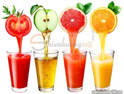 Uống nhiều nước hoa quả dễ gây sâu răng