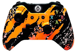 Mod controllers Xbox One Orange flurry