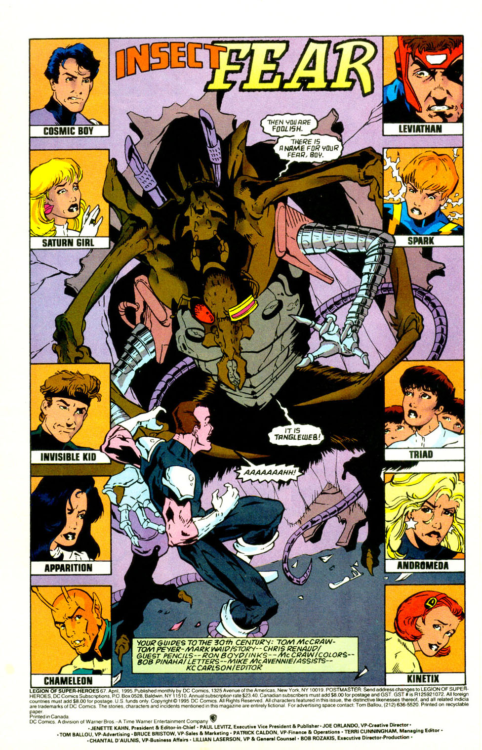 Legion of Super-Heroes (1989) 67 Page 2