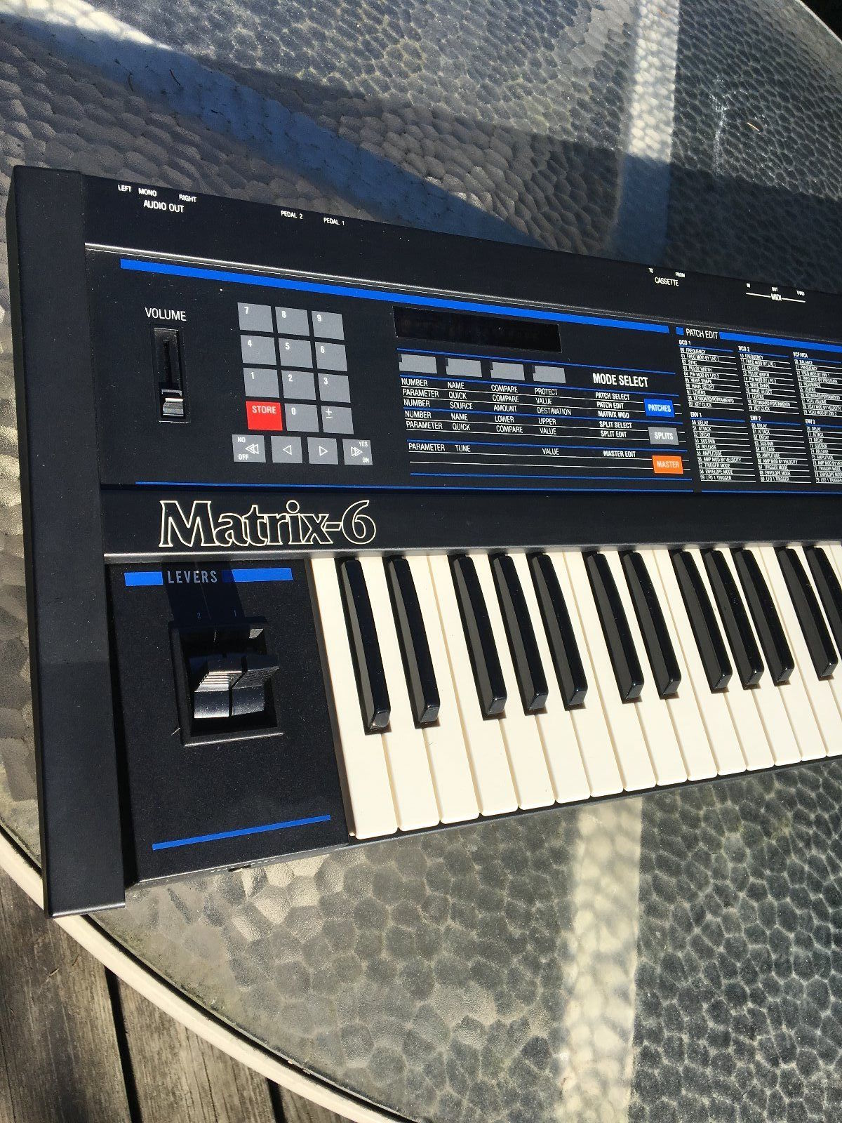 matrixsynth oberheim matrix 6 synthesizer w manual and pedal rh matrixsynth com Oberheim Matrix 1000 Oberheim Logo