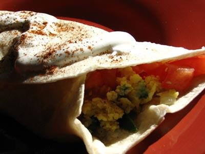 Jalapeño Breakfast Burritos