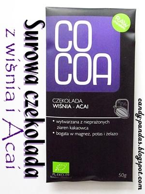 Surowa czekolada z wiśnią, Acai - Cocoa / SuroVital