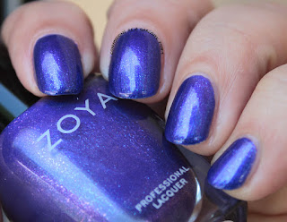 Zoya Paradise Sun Collection swatch of Isa