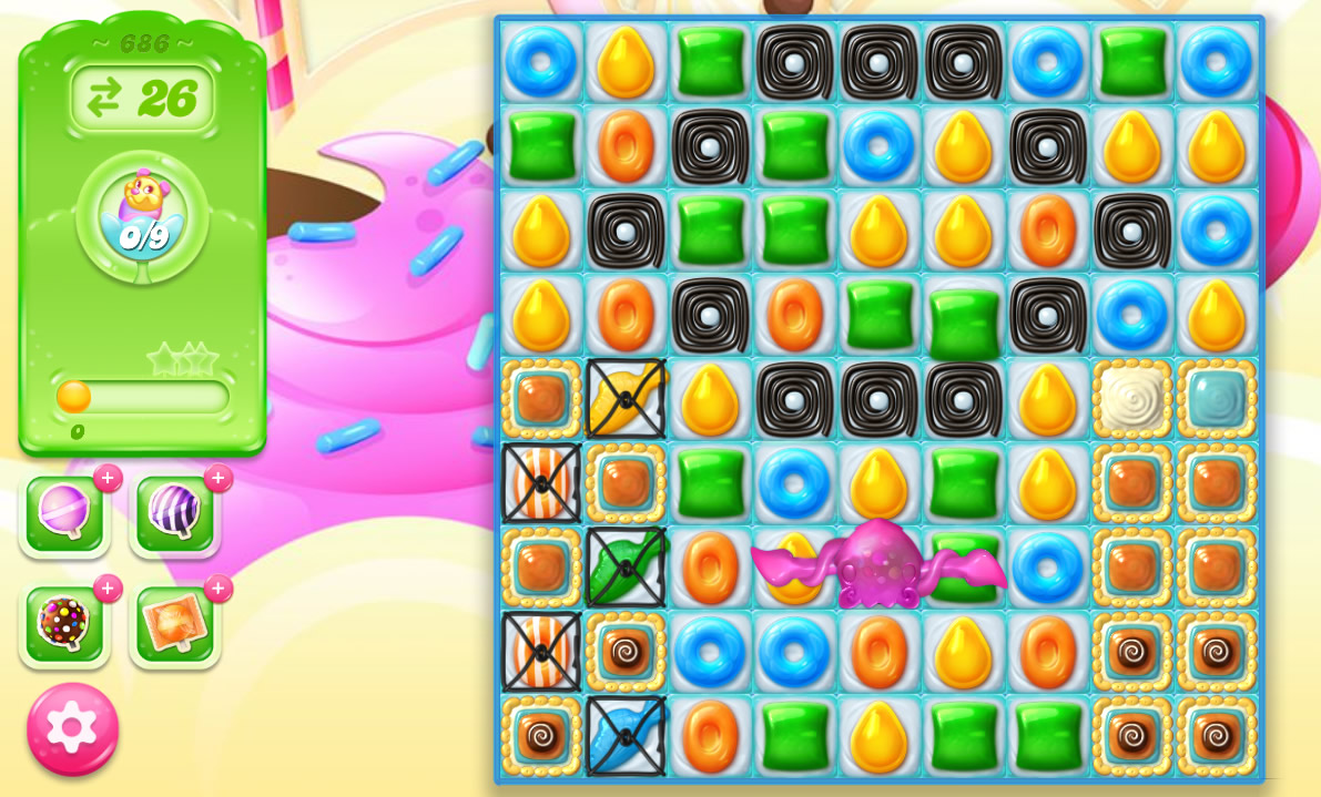 Candy Crush Jelly Saga level 686