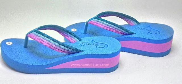 Sandal Pretty, Sandal Jepit Wanita Terbaru   harga grosir murah