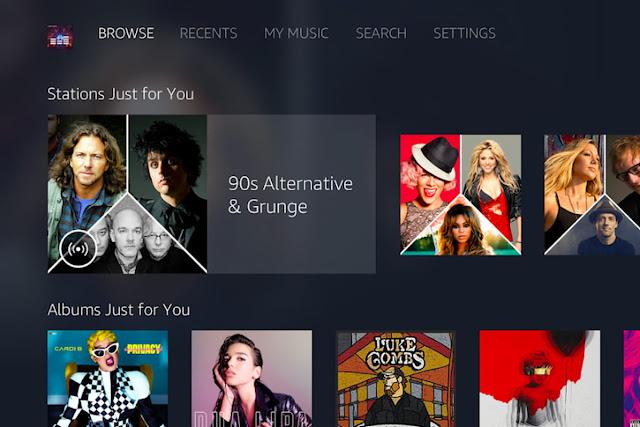 Amazon Music تطبيق