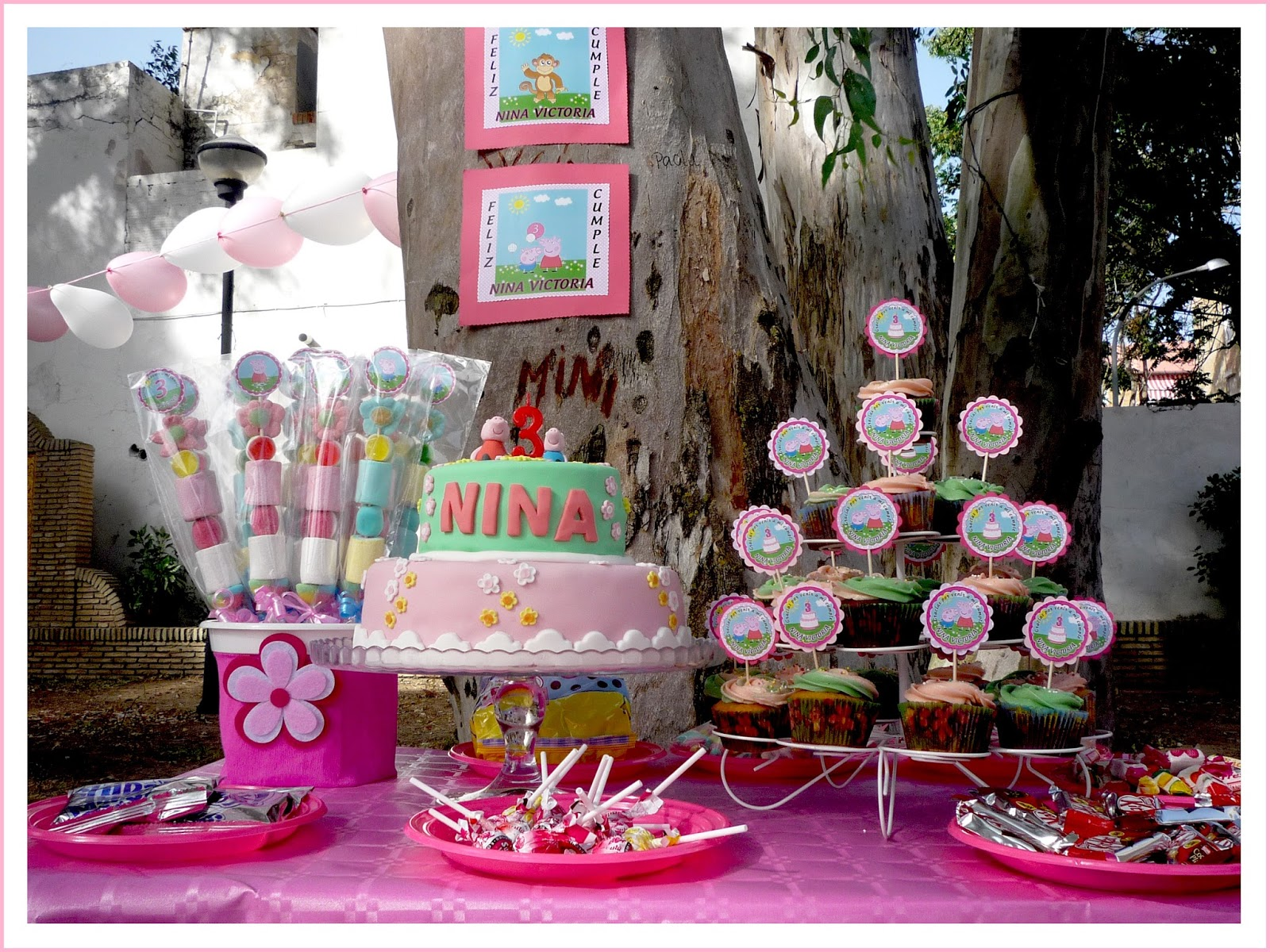 Baby Nina Fiestas Fiesta temtica Peppa Pig para nuestra