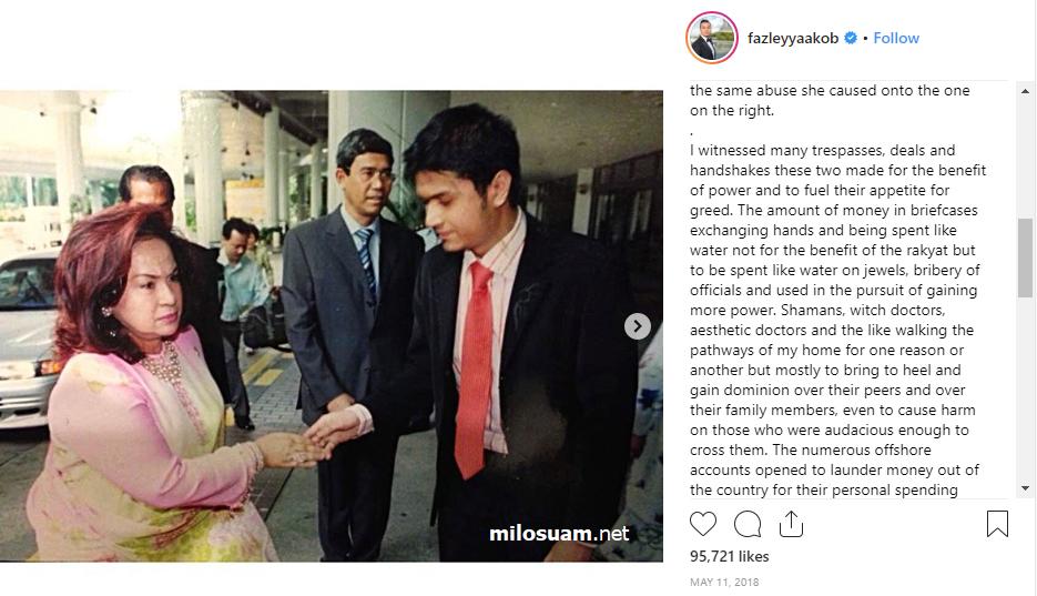 Menantu Datin Rosmah