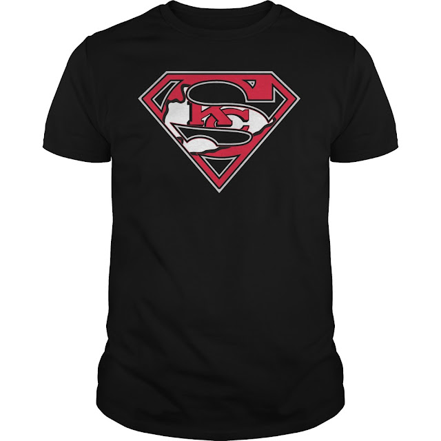Kansas City Chiefs Superman Logo Shirt