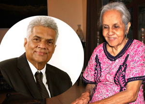 """""""Ranil also is a normal human being no"""" --- utterance by cinema actress Irangani about Ranil's dance"""