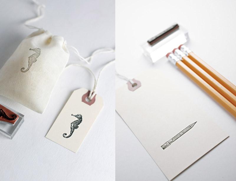 Imprime artesanalmente con sellos