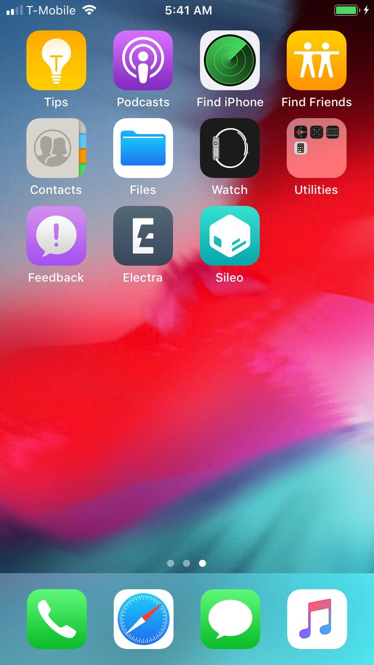 CoolStar shows Electra Jailbreak for iOS 12 [Image