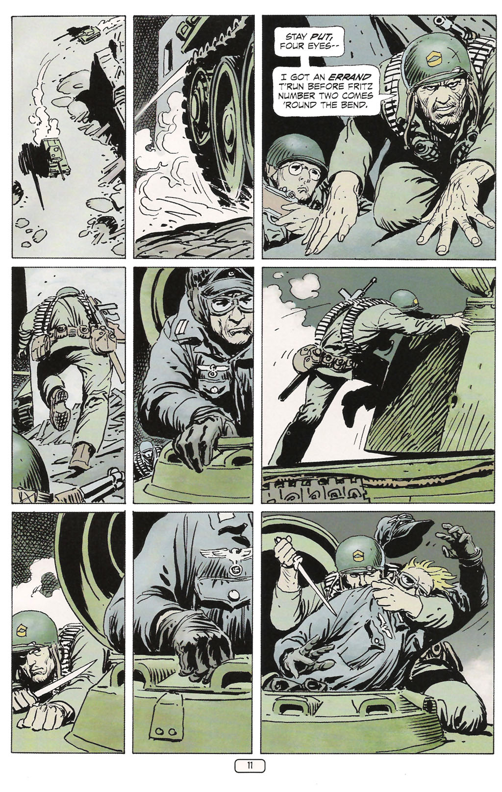 Read online Sgt. Rock: The Prophecy comic -  Issue #1 - 13
