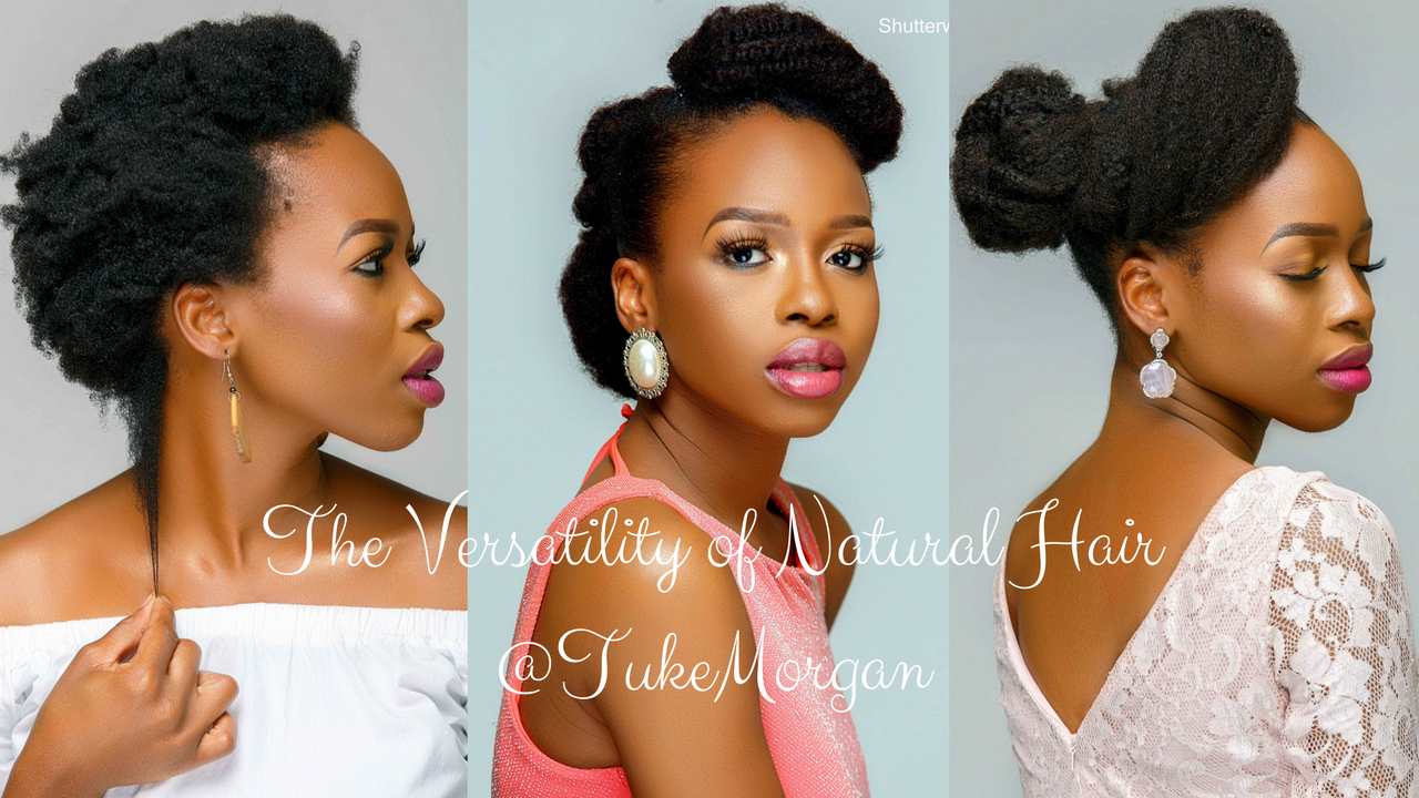 Natural Hair Bridal Options
