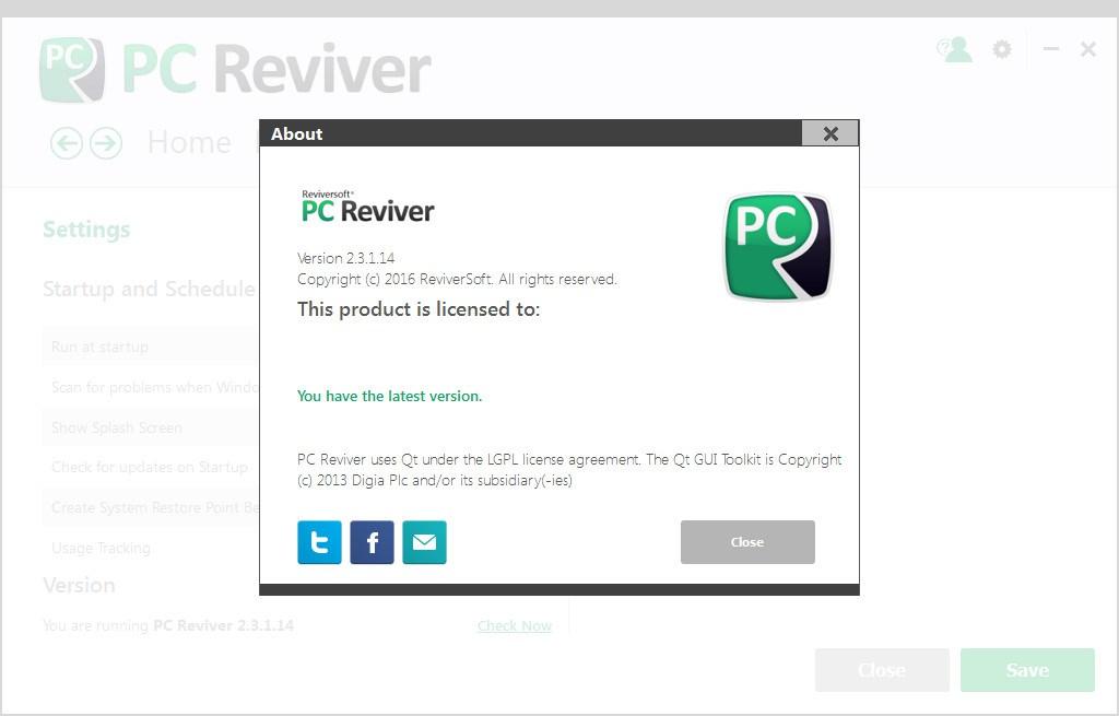 pc reviver license key free download