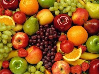 Legumes e frutas ricos em CAROTENO
