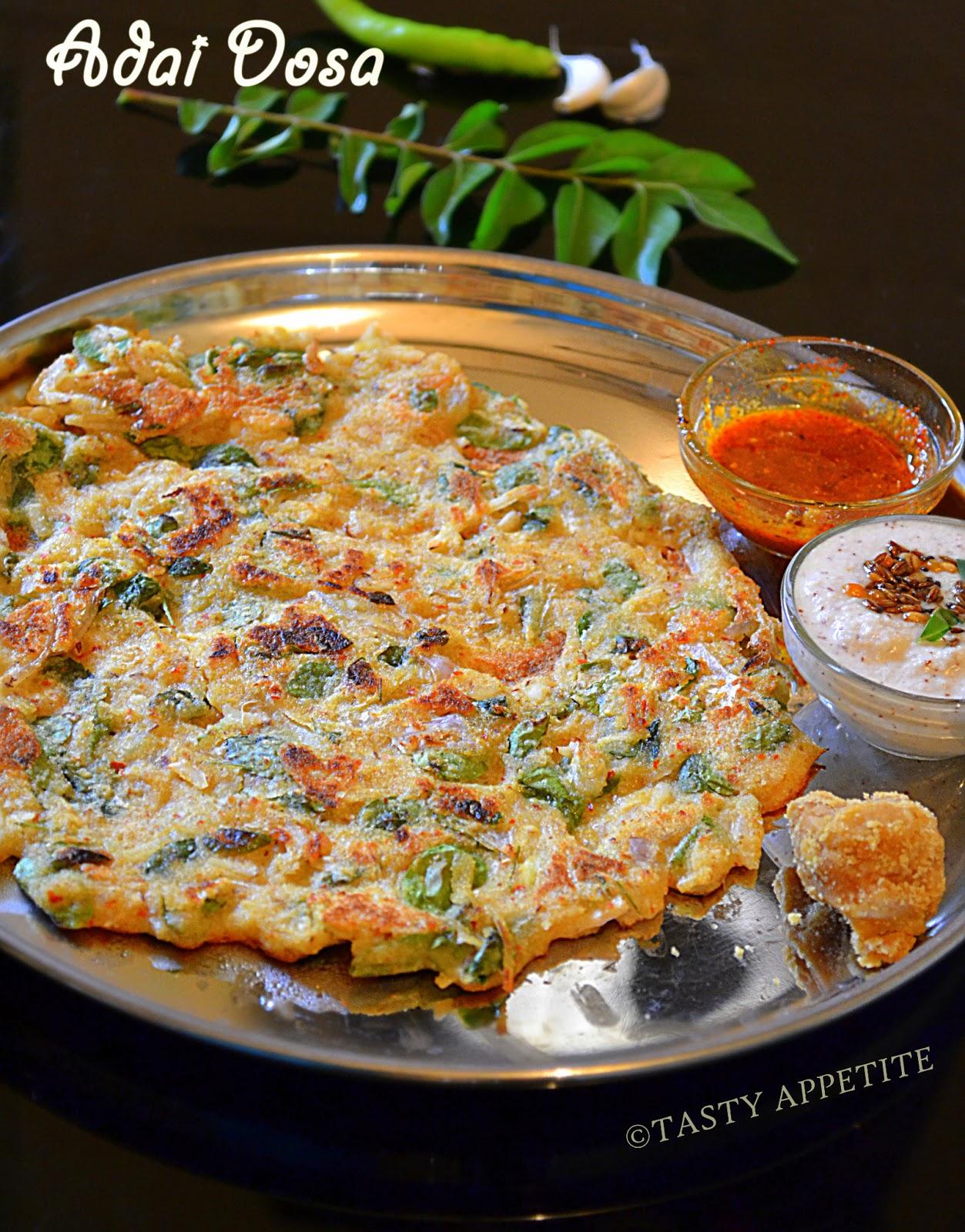 How To Make Adai Adai Dosa Easy Breakfast Recipes