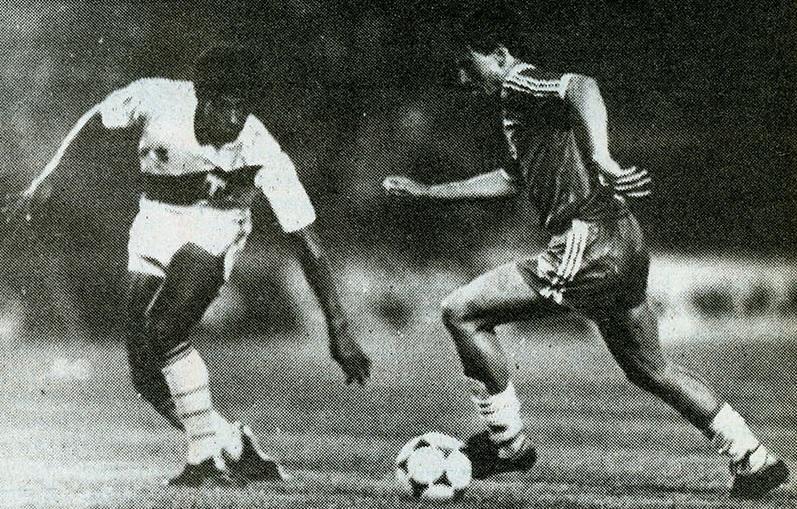 Perú y Chile en Copa Centenario de Armenia, 1 de febrero de 1989