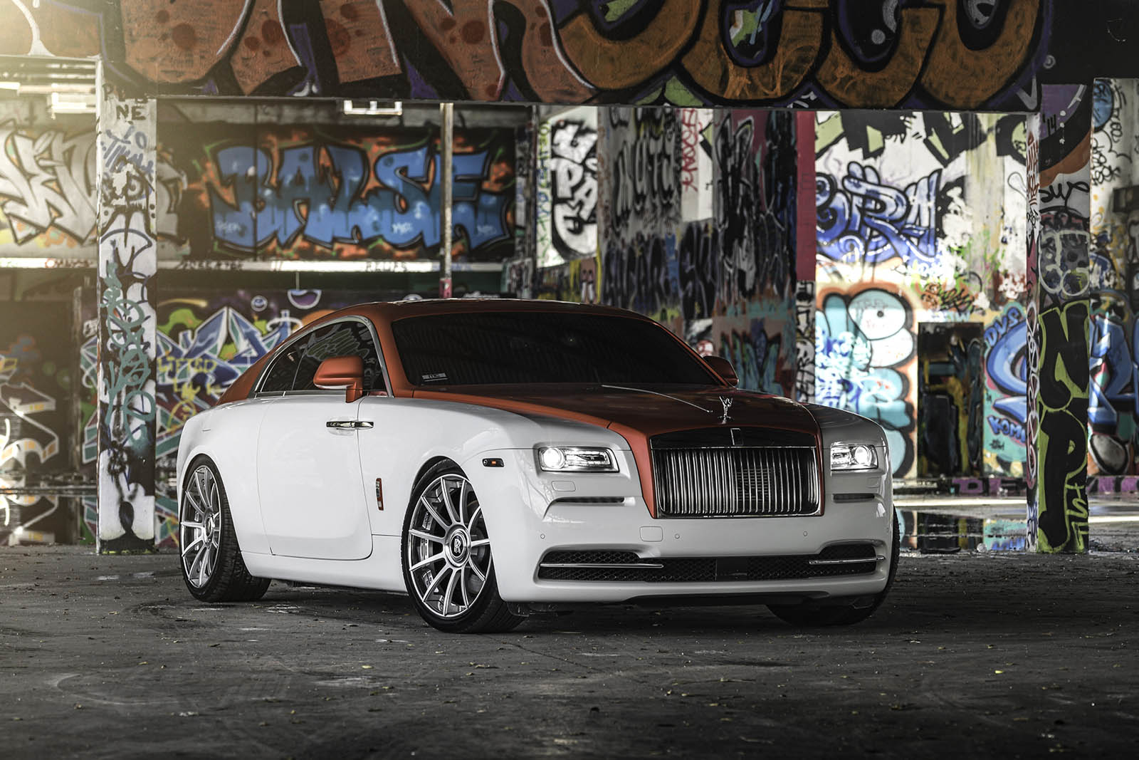 Pirelli P Zero >> Rolls-Royce Wraith Dips In Candy Apple Red With Forgiato ...