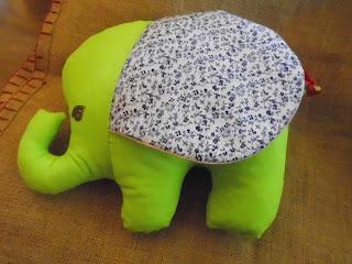 Zielony słonik