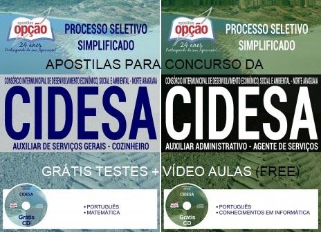 Apostila CIDESA MT processo seletivo 2017 comum aos cargos de nivel médio.