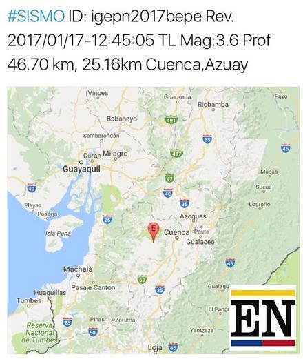 temblor cuenca ecuador