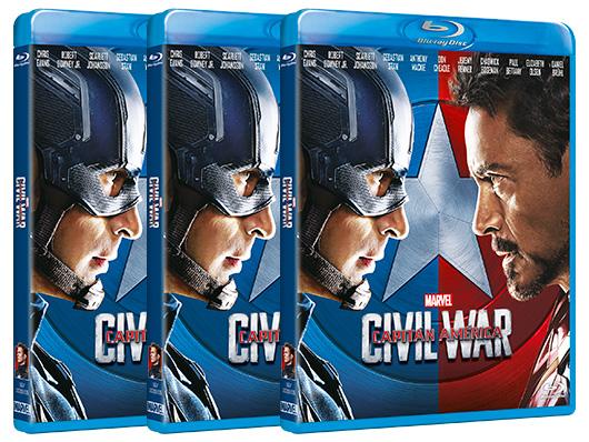Concurso 'Capitán América: Civil War': Tenemos Blu-rays de la película para vosotros