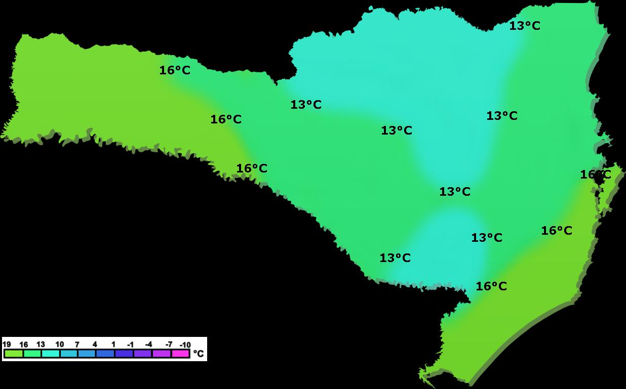 PREVISÃO DO TEMPO SANTA CATARINA: Previsão do tempo Santa ...