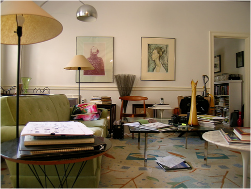 Mid-Century Modern Living Room Design Ideas