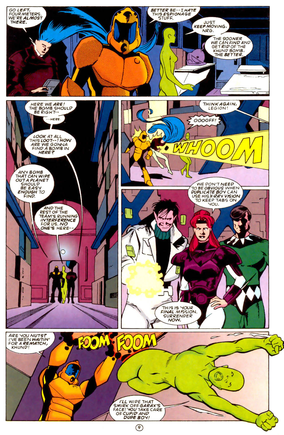 Legion of Super-Heroes (1989) 58 Page 9