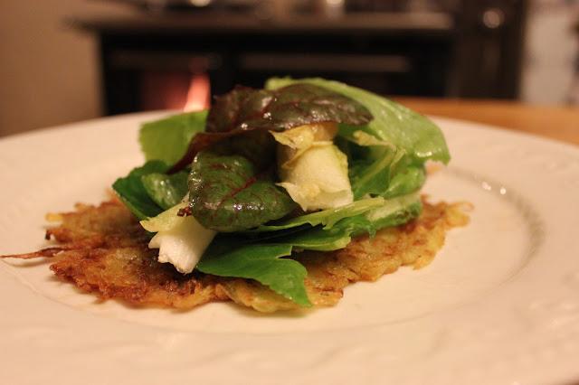 Gernan potato pancakes - organic kartoffelpuffer