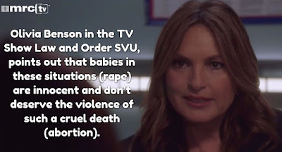 Law and Order: SVU' offers surprising defense of babies conceived in rape