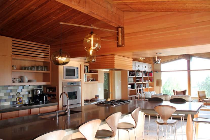 Mid Century Modern Kitchen Lighting